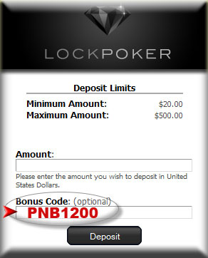 bonus code for lock poker