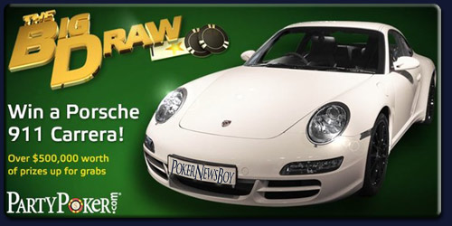 Party Poker Win a Porsche