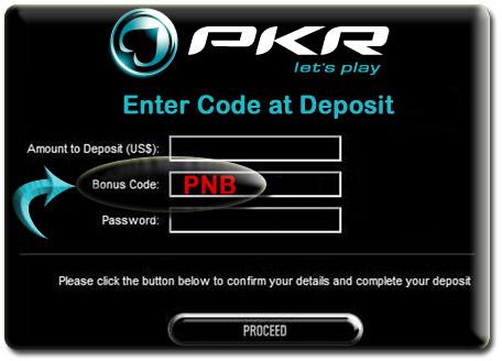 PKR Bonus