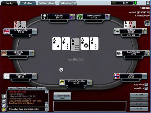 Aced Poker screen shot