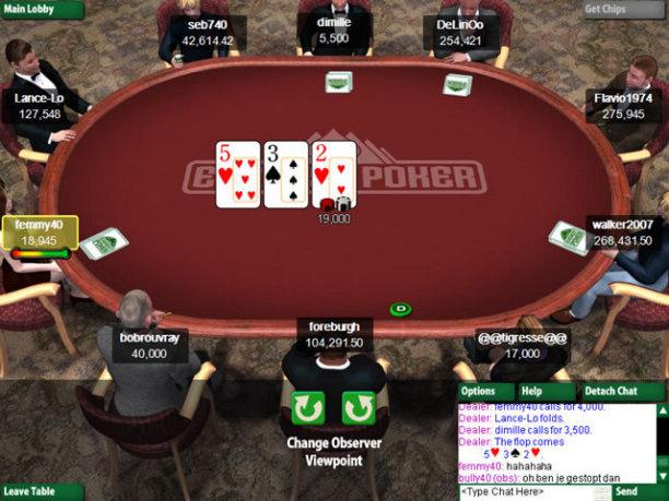 Everest Poker Screenshot