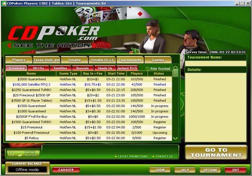 cd poker lobby