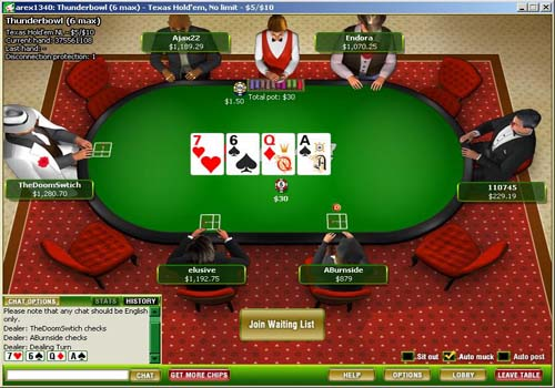 cd poker screenshot
