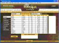 raider poker lobby screen shot