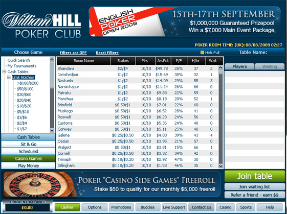 william-hill-poker-lobby