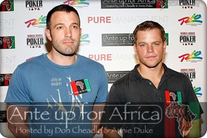 ante up for africa charity