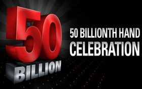 Pokerstars 50 billionth hand