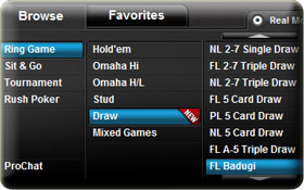 full tilt draw poker