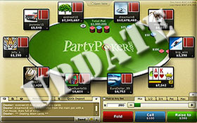 party poker software update