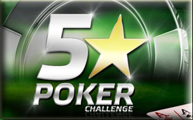 party poker 5 star challenge