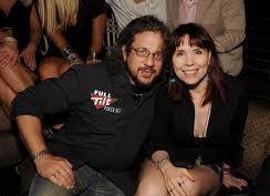 Joe Reitman and Annie Duke