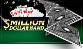 party pokers million dollar hand
