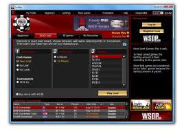 WSOP Poker screen shot