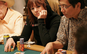 Annie Duke at the WSOP