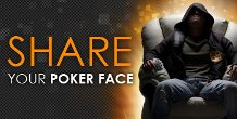 share your poker face