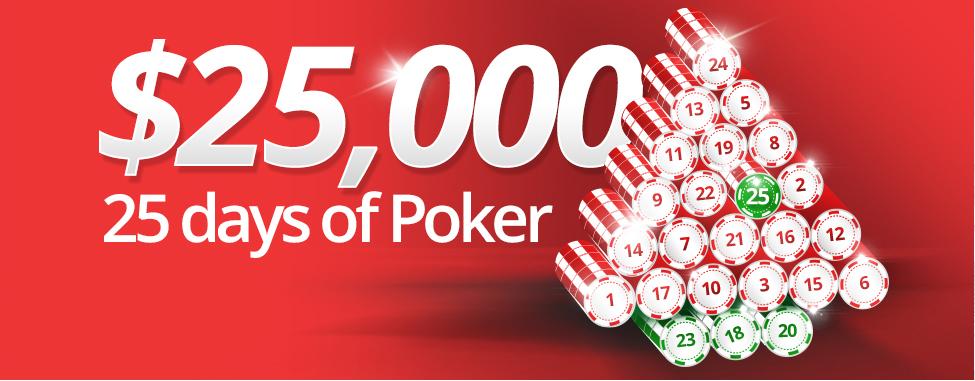 BetOnline.ag launch Christmas Poker Promo: 25 Days of Christmas ...