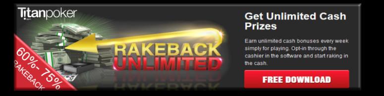 Titan Poker Rakeback